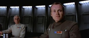 Admiral Motti in the foreground; Colonel/Deputy Director Yularen in the Background Photo Credit - Star Wars Episode IV: A New Hope