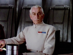 Colonel (or Admiral) Wullf Yularen  Photo Credit - Star Wars: A New Hope