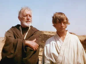Obi-Wan and Luke on Tatooine Photo Credit - Star Wars Episode IV: A New Hope