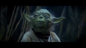 Yoda observes the life that surrounds him on Dagobah Photo Credit - Star Wars Episode V: The Empire Strikes Back