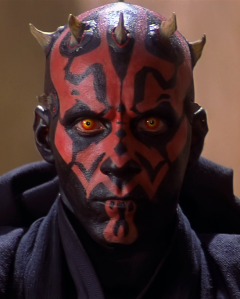 Movie Title Idea - Darth Maul: Sith Bad-Ass Photo Credit - Star Wars Episode I: The Phantom Menace