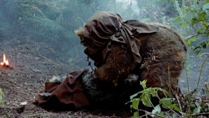 Romba mourns the death of Nanta Photo Credit - Star Wars Episode VI: Return of the Jedi