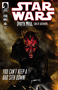 The cover of Star Wars Darth Maul Son of Dathomir: Issue # 1 Photo Credit - Lucasbooks