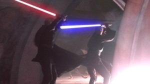 Anakin and Count Dooku engage in combat Photo Credit - Star Wars Episode II: Attack of the Clones