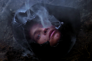Luke's face appears in the helmet of Darth Vader. Photo Credit - Star Wars Episode V: The Empire Strikes Back