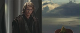 Anakin learns that he has been placed on the Council but was not promoted to the rank of Master. Photo Credit - Star Wars Episode III: Revenge of the Sith