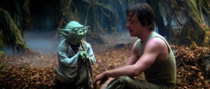 Yoda teaches Luke about the Force. Photo Credit - Star Wars Episode V: The Empire Strikes Back