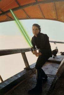 Luke on the Sail Barge