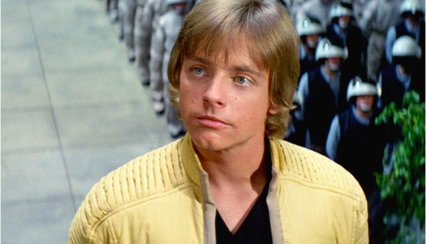 Luke in yellow