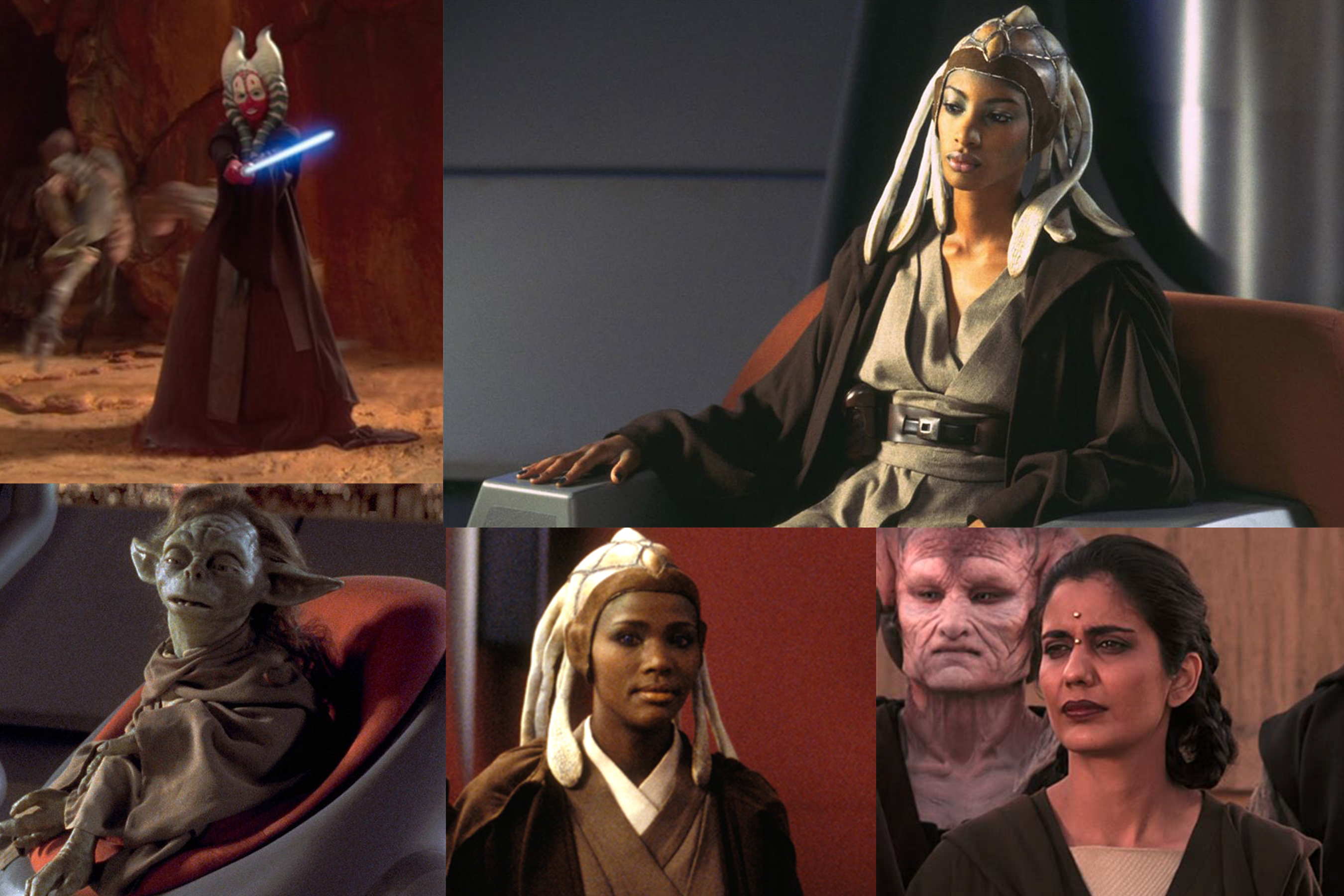 Women Of The Jedi Council The Imperial Talker