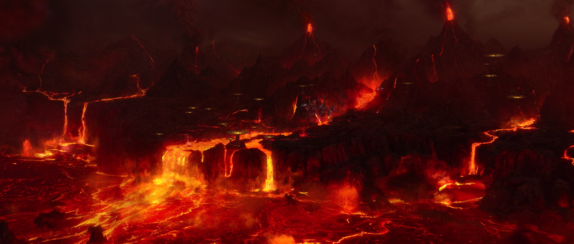 Lava on Mustafar