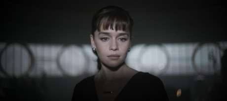 Emilia Clarke is Qi'ra in SOLO: A STAR WARS STORY.